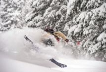 Photo credit: Daniel Ronnback, Skier: Sammy Carlson