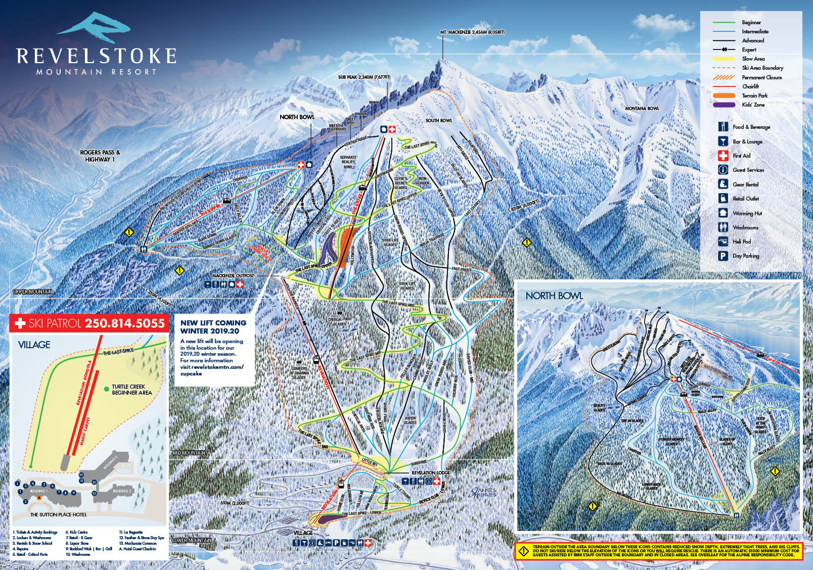 s | Revelstoke Mountain Resort | British Columbia, Canada Canada Snow Depth Map on