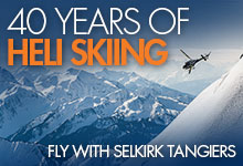 40 Years of Heli Skiing