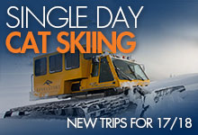 Single Day Cat Skiing
