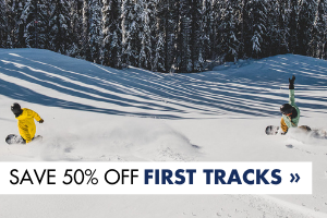 Save on First Tracks
