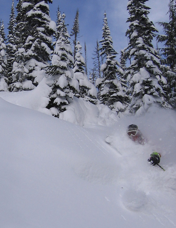 Photo credit: Great Northern Snowcat Skiing