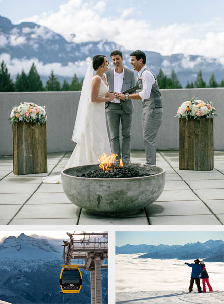 Getting married at Revelstoke Mountain Resort