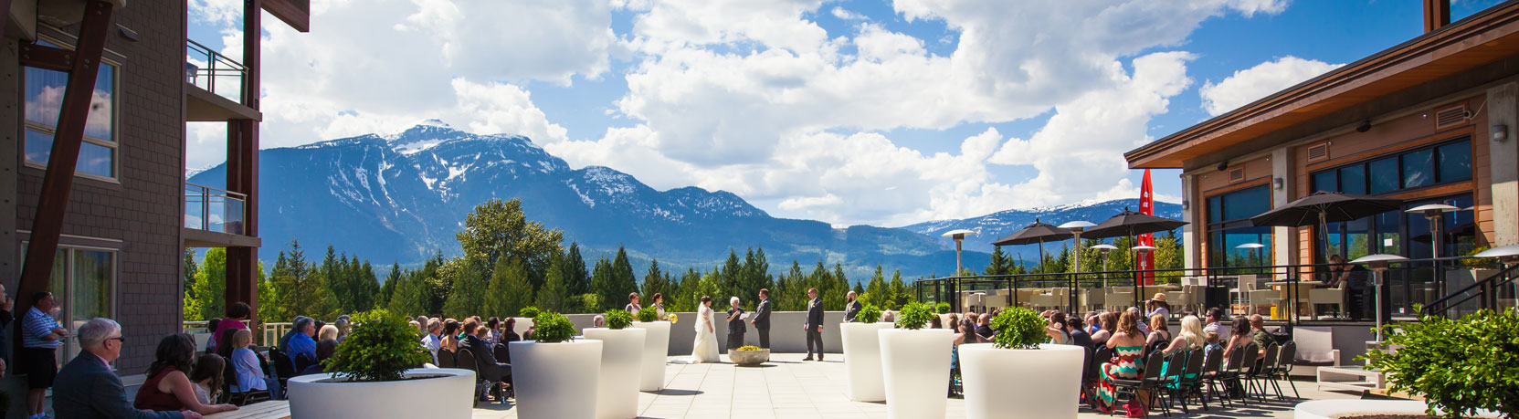Book Weddings Events Revelstoke Mountain Resort British Columbia Canada