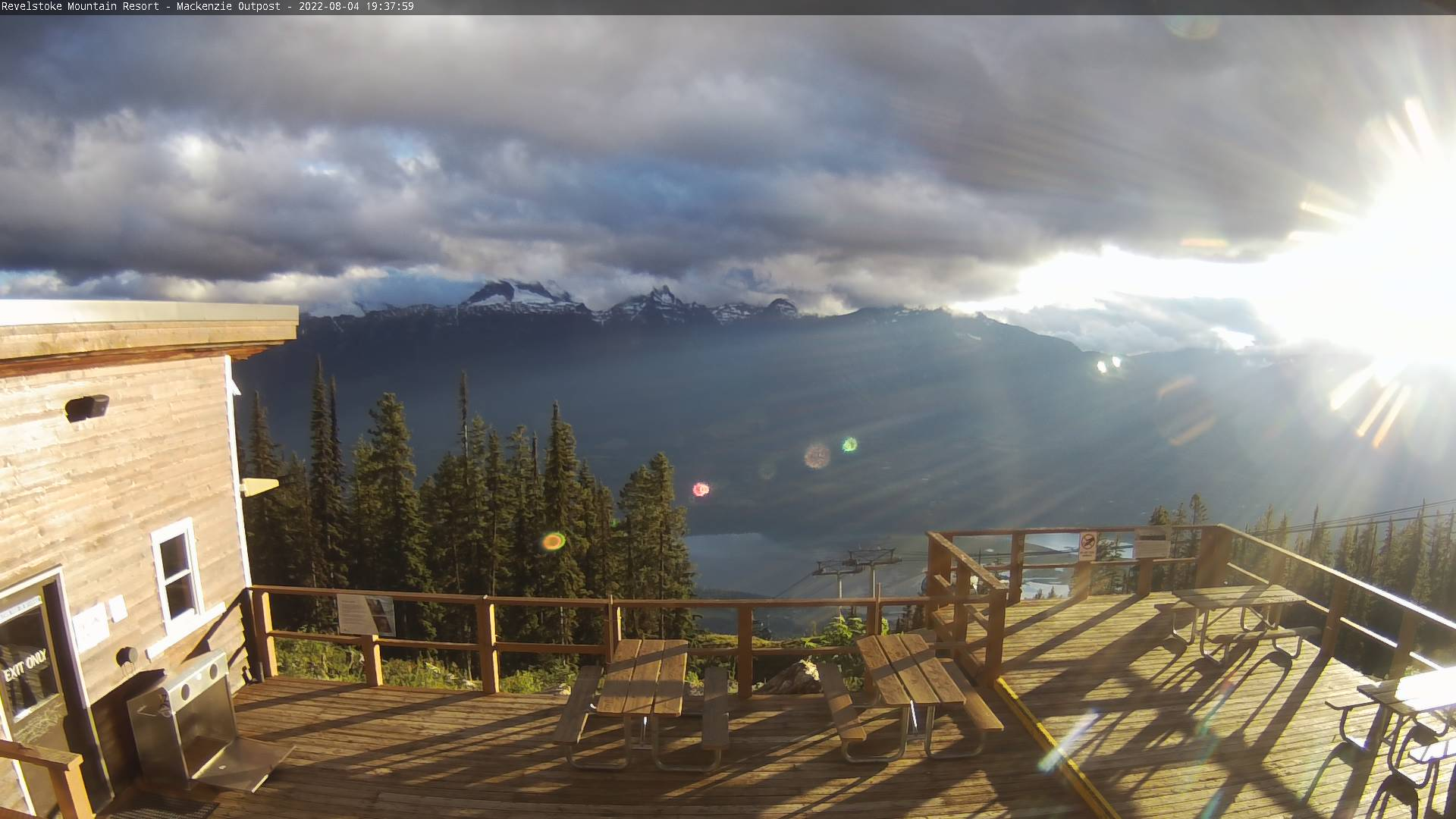 Mackenzie Outpost Webcam View